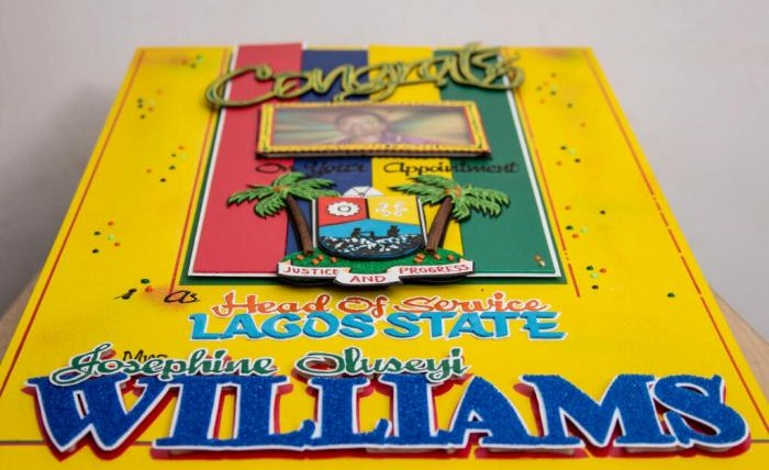 Appointment Greeting Card   Lagos State Head Of Service