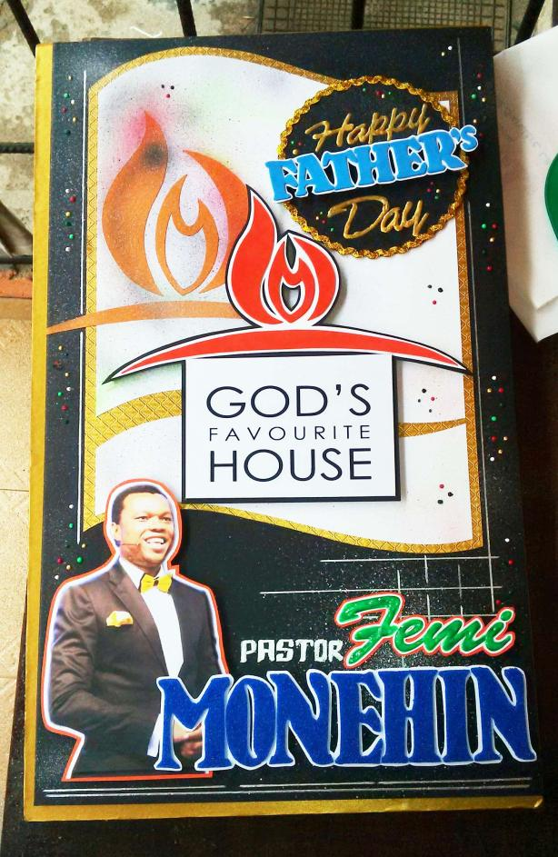 Father's Day Greeting Card - Pastor Femi Monehin