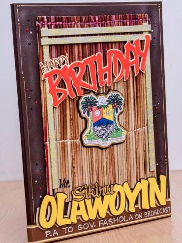 mat pattern birthday card 2