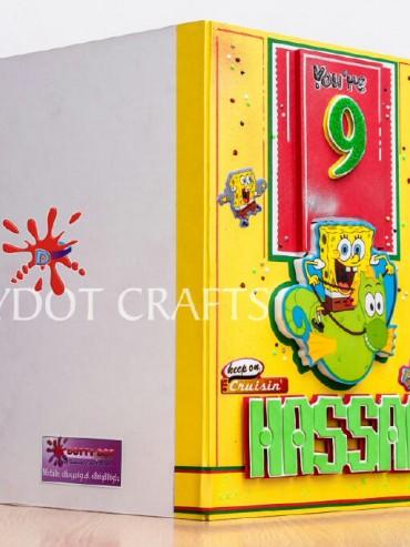 crafts village creative shop-spongebob card 4